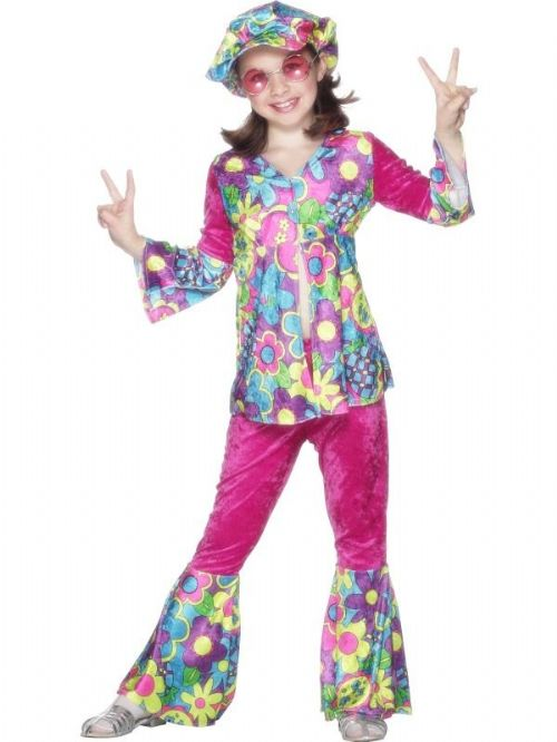 Flower Power Costume Child